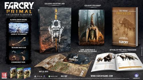 Far Cry Primal Collectors Edition XBOX ONE