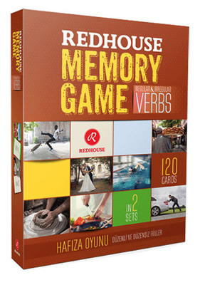 Redhouse Memory Game - Verbs