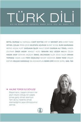 Türk Dili Dergisi Sayı 771