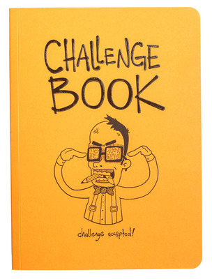Challenge Book - Turuncu Not Defteri