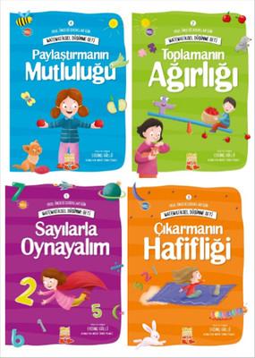 Matematiksel Düşünme Seti 4 Kitap Takım