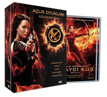 Hunger Games Box Set - Açlik Oyunlari Alayci Kus Bros Hediyeli Koleksiyon Seti