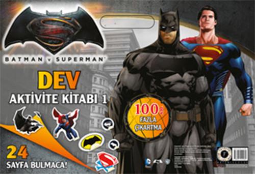 Batman ve Superman Dev Aktivite Kitabı 1