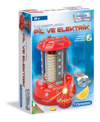 Clementoni Ilk Kesif Seti - Elektrik (7Yas+) 64563