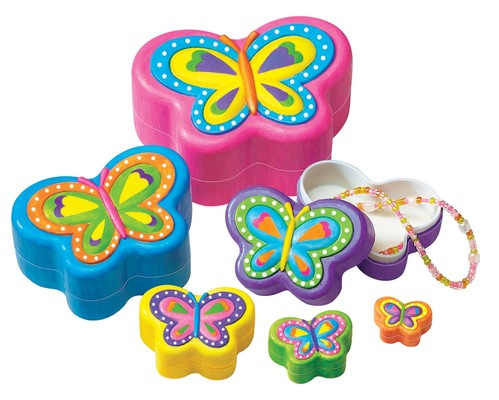 4M Butterfly Nesting Trinket Boxes / Kelebek Mücevher Kutuları