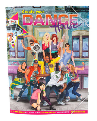 Top Model Dance House Sticker Albümü 8479