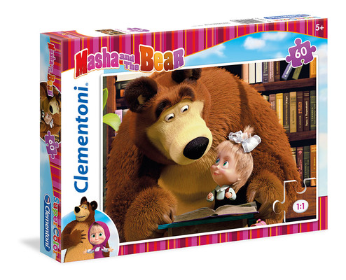 Clementoni Puzzle 60 Masha And The Bear 2 26047