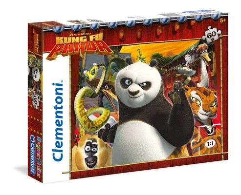 Clementoni Puzzle 60 Kung Fu Panda 26941