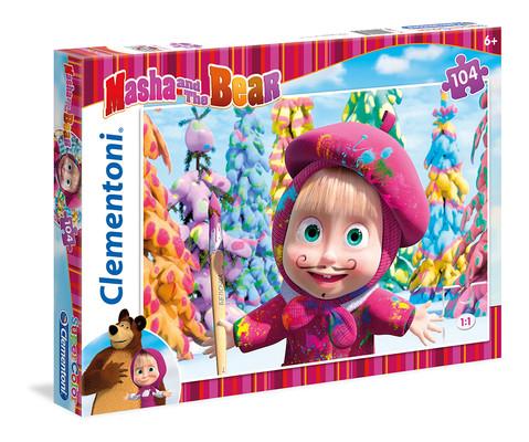 Clementoni Puzzle 104 Masha And The Bear 1 27934