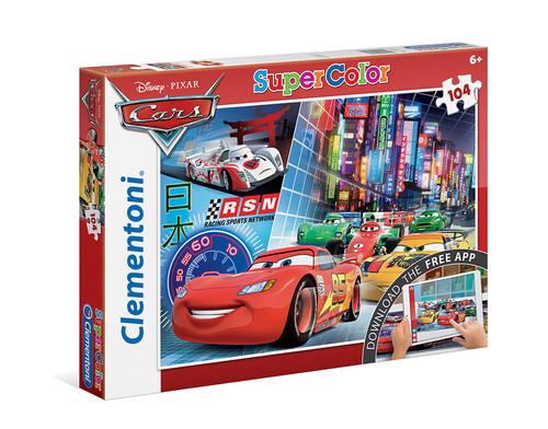 Clementoni Puzzle 104 + Web Uygulamali Cars 20706