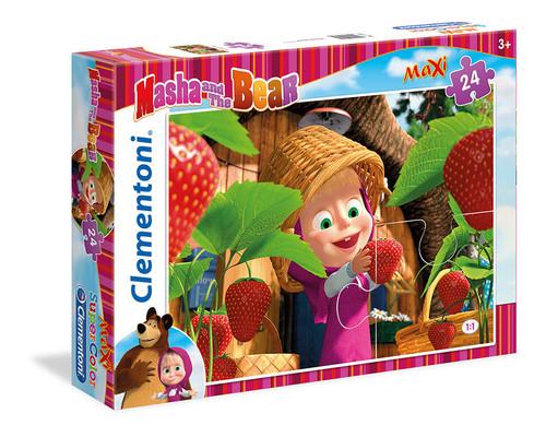 Clementoni Puzzle 24 Maxi Masha And The Bear 2 24034