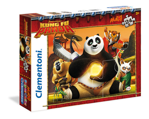 Clementoni Puzzle 24 Maxi Kung Fu Panda 24042