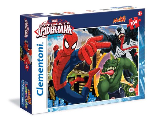 Clementoni Puzzle 104 Maxi Ultimate Spiderman 23684