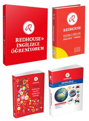 Redhouse Resimli Set - 40 Kitap Takım