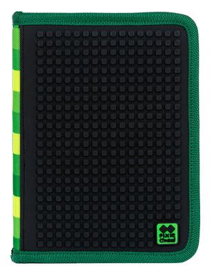 Pixie Crew Okul Kalem Kutusu Yeşil / Siyah PXA-04-D24