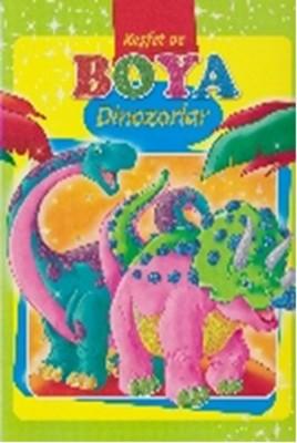 Keşfet ve Boya Dinozorlar