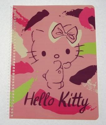 Hello Kitty Campus Plus Defter 26*18,5 60 Yp Kareli HK5020-K