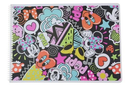 Minnie Mouse Pp Spiralli Resim Blok 25*35 15 Yp MINNIE6500
