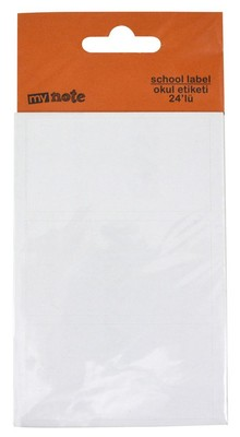 Mynote Uc Okul Etiket( 8 X3 )24 Lu-