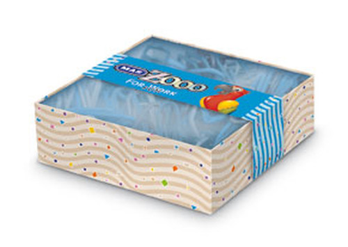 Mas Colors - Kare Kutuda Plastik Ataş No:5 Mavi 0604
