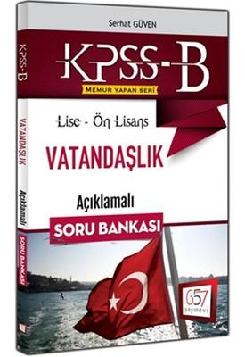 2016 KPSS-B Lise-Ön Lisans Vatandaşlık Açıklamalı Soru Bankası