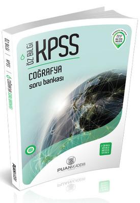 Puan KPSS Öz Bilgi Coğrafya Soru Bankası 2017