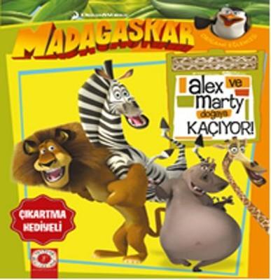 Madagaskar Penguenleri - Alex ve Marty Doğaya Kaçıyor!