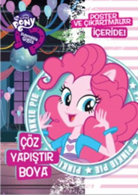 My Little Pony EQ Girls Çöz Yapıştır Boya - 3