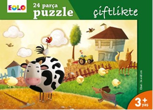 Eolo 24 Parça Puzzle - Çiftlikte