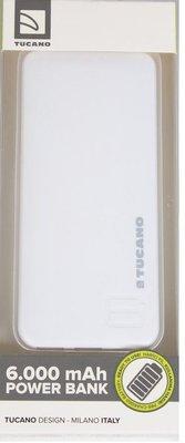 Tucano Powerbank 6000 Mah Beyaz