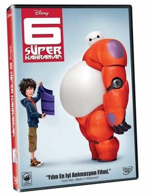 Big Hero 6 - 6 Süper Kahraman