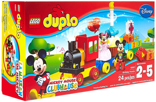 Lego Duplo Mickey ve Minnie Doğum Günü Gösterisi 10597