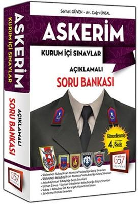 Askerim Kurum İçi Sınavlar  Açıklamalı Soru Bankası - 2016