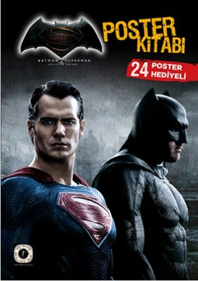 Batman ve Superman Poster Kitabı