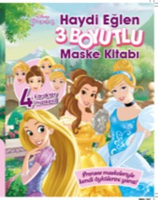 Disney Prenses 3 Boyutlu Maske Kitabı