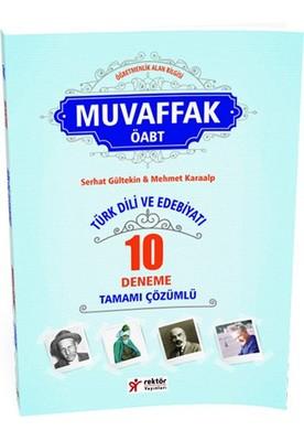 Rektör KPSS ÖABT Türk Dili ve Edebiyatı Öğretmenliği Muvaffak Tamamı Çözümlü 20 Deneme 2016