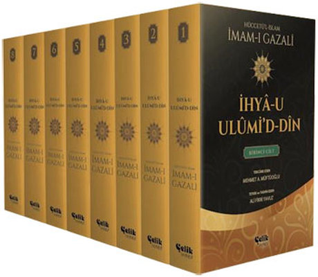 İhya-u Ulumi'd-Din - 8 Cilt Takım