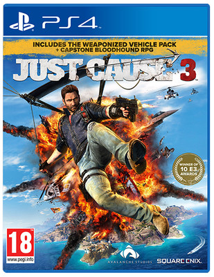 Just Cause 3: Capstone RPG Limited Edition PS4