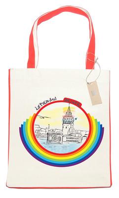 OrganiCraft Rainbow Galata Canvas Tote Bag OC00103