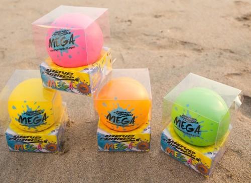 Wave Runner Mega Ball 9 cm WR800B Sari-Turuncu-Pembe-Yesil