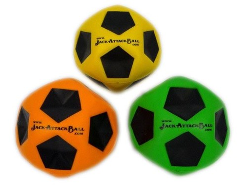 Jack Attack Koo-Kool Reaction Ball 6 cm JA-KOO Sari-Turuncu-Pembe-Yesil