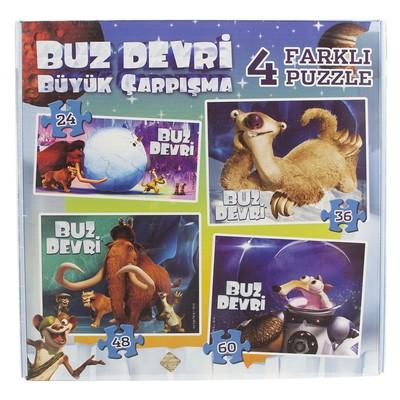 Ice Age 4'lü Kutu Puzzle 83662