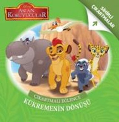 Disney Aslan Koruyucular Çıkartmalı Eğlence Kükremenin Dönüşü
