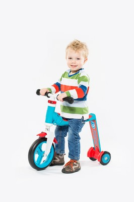 Scoot And Ride Scooter Highwaybaby Plus Blue/Red (216272) Sctrdesct007