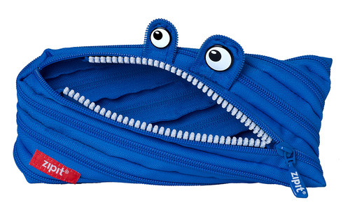 Zip It Kalem Kutusu Neon Monster Royal Blue
