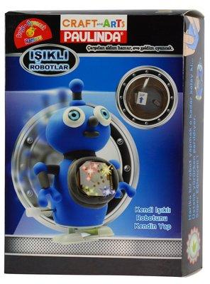 Craft and Arts PAULINDA Isikli Robotlar  81484-D