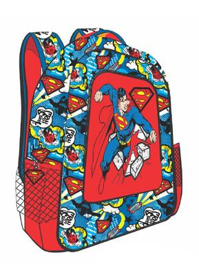 Superman Punch Ilkokul Çantasi Tek Gözlü TRX-9E-SU2