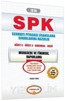 Yediiklim SPK 1016 Muhasebe ve Finansal Raporlama