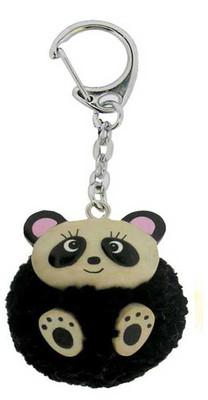 Nev Ecolinea Pom Pom Anahtarlık Panda