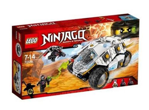 Lego Ninjago Titanium Ninja Tumbler (70588)